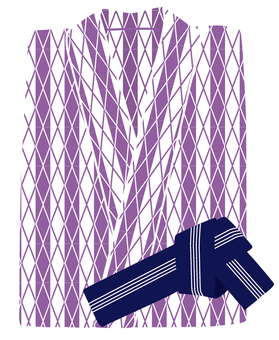 Yukata (purple)