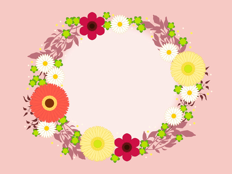 Flower frame 15