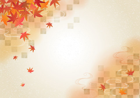 Japanese pattern material 009 background map background