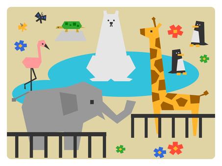 一个动物园