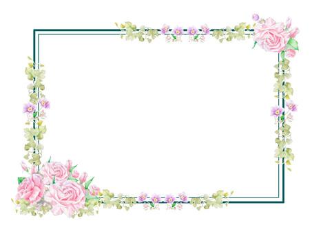 Rose frame ★ 0028-R