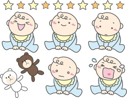 People Baby & Bear's Plush Doll