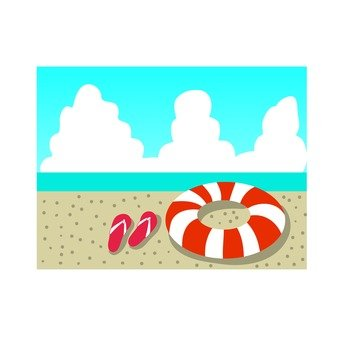 Beach bath icon 6