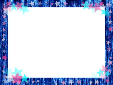 Denim frame 2