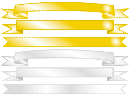 Gold / Silver Ribbon