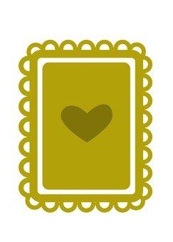 Heart's Gold Card