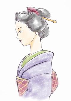 Kimono women