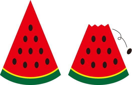 西瓜(西瓜)·切西瓜