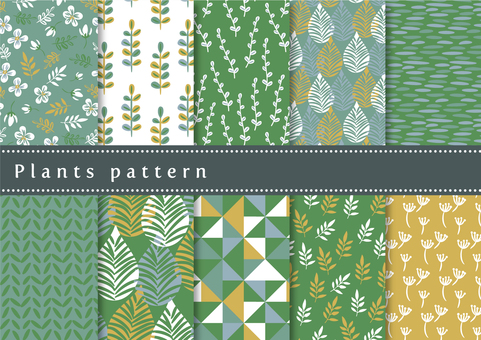 Pattern set 043 Botanical