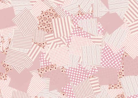 Patchwork background (pink)