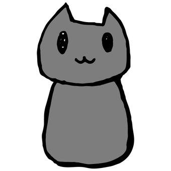 Loose cat (ash)