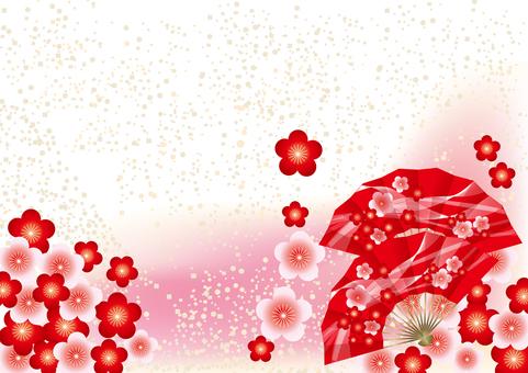 Plum Blossoms & Fans 13