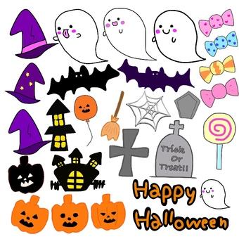 Halloween material set