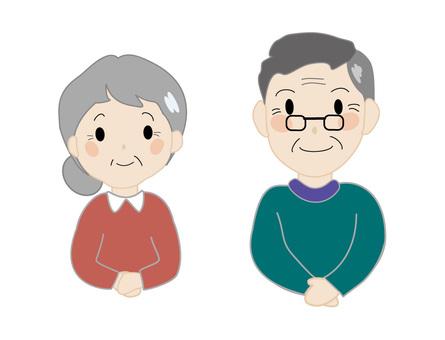 Senior couple 5