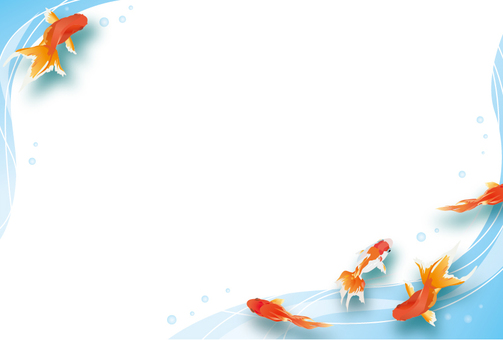 Goldfish frame (Yoko)