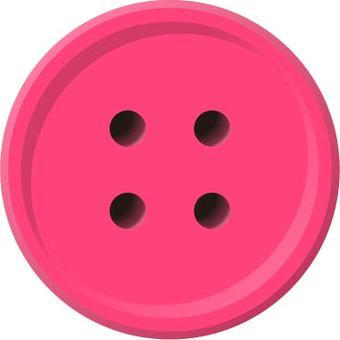 Four-hole button (pink)