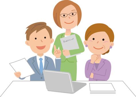 70615. Company employee, conversation 4