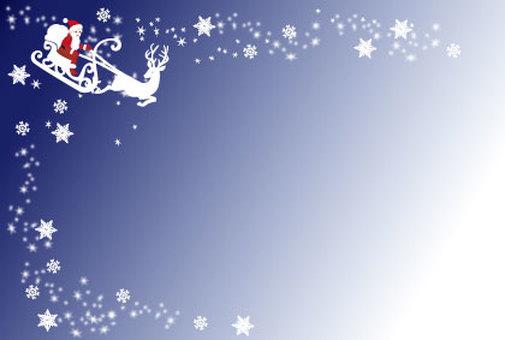 Santa and reindeer 01