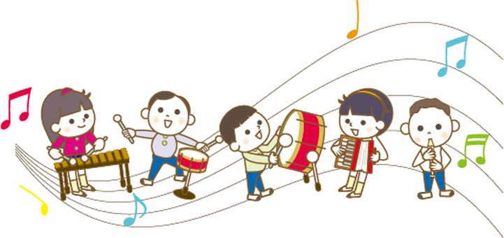 Music Festival for Children in Autumn
