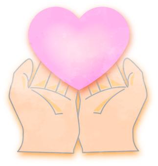 手與一顆心