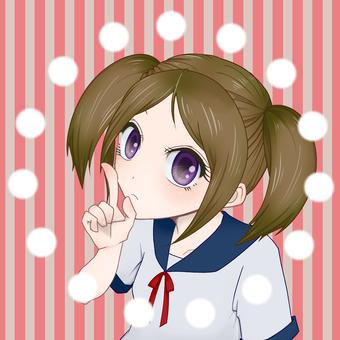 Girl icon 11