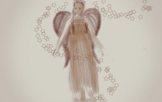 天使(棕褐色)