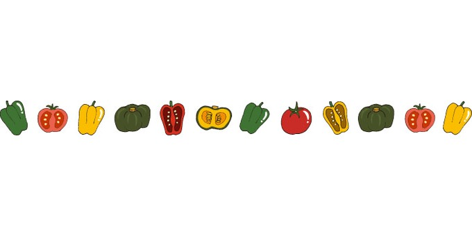 Summer vegetable line