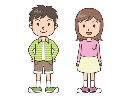 Person / Child / Men / Smile