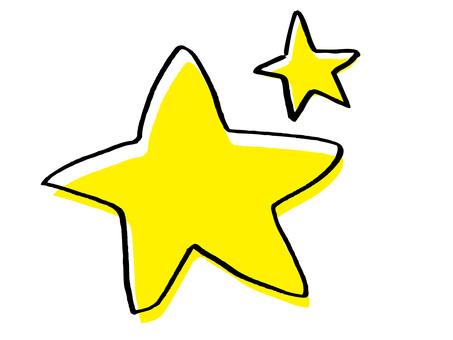 간단한 별