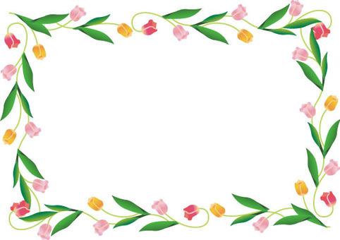 Tulip line frame