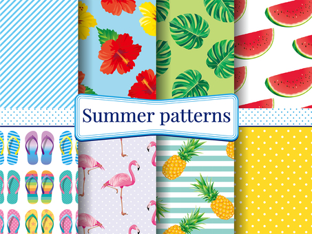 Summer _ pattern