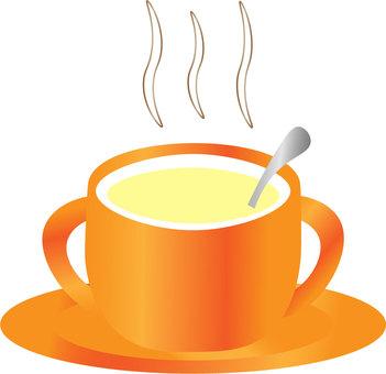 カップスープ(オレンジ)