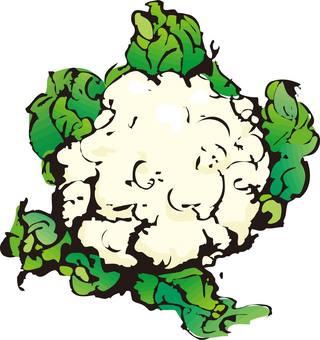 Cauliflower, broccoli