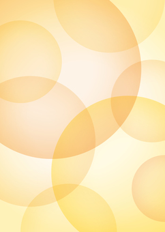 Background circle large and small orange A4 painting size