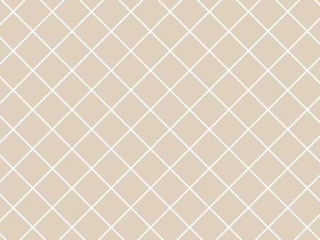 다이아몬드 체크 무늬 라이트 브라운 북유럽 풍