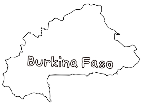 부르 키나 파소 지형