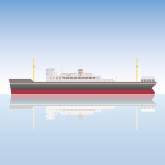 Ship transport ship ferry
