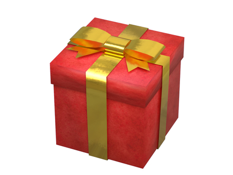 Present box (red)