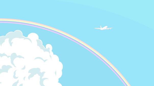 空と飛行機2