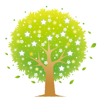 星の花咲く木(ライト)