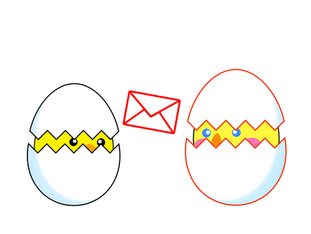 Exchange with foreigners eggs