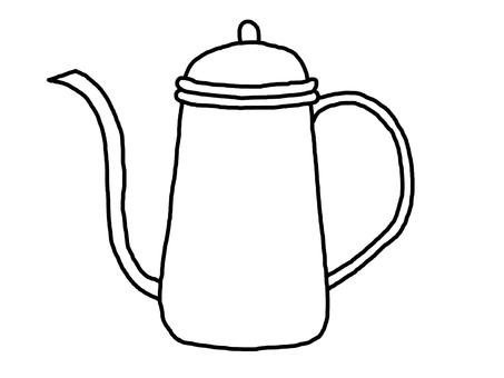 Drip kettle