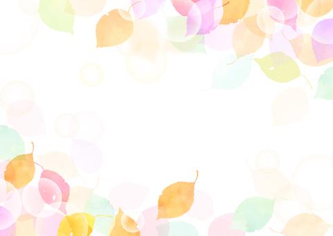 단풍 프레임 8