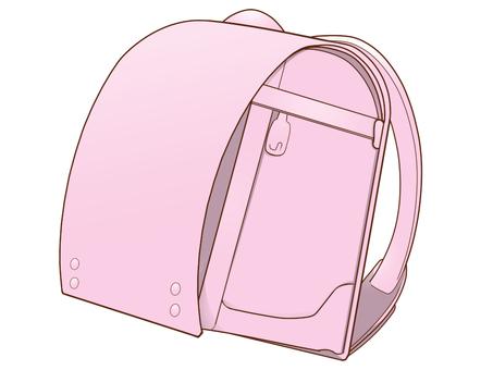 School bag (pink)