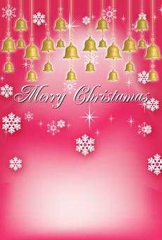 Christmas card bell ornaments