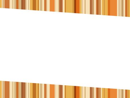 """Striped frame """"Orange"""""""