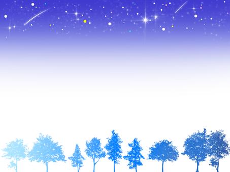 Sky and Tree Frame (Night) 2