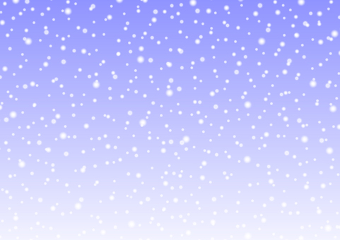 Snow background material -1