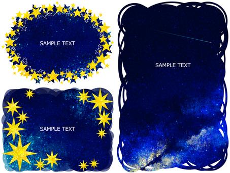 Frame 002 starry sky