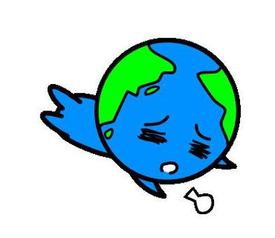 Tired earth